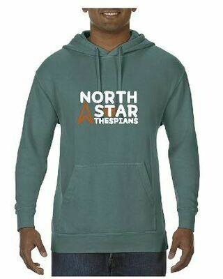 Comfort Color Hoodie with choice of front chest design