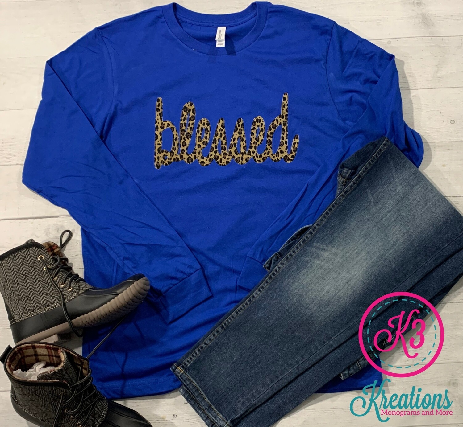 Blessed Long Sleeved Tee