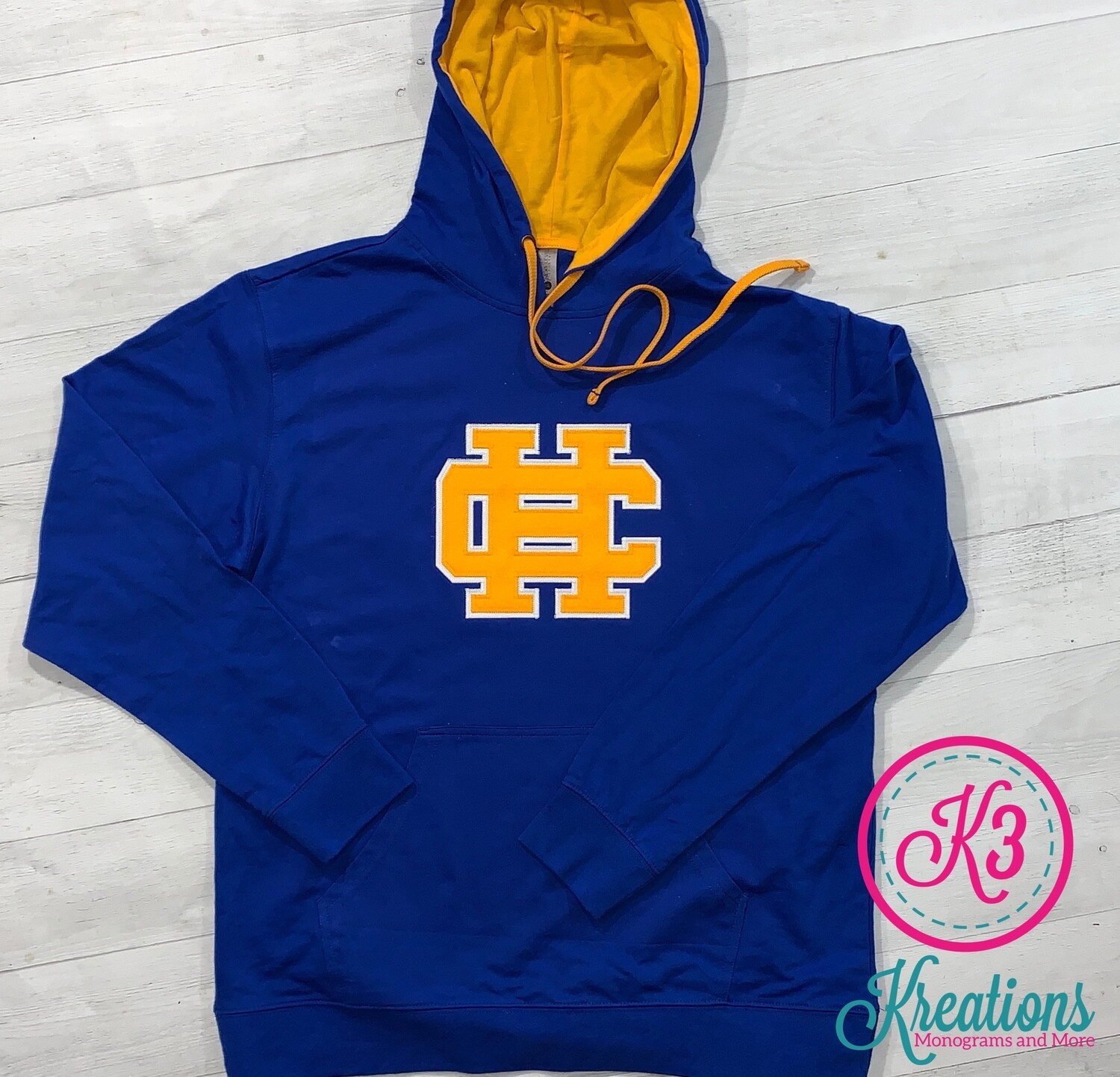 HC French Terry Hooded Pullover