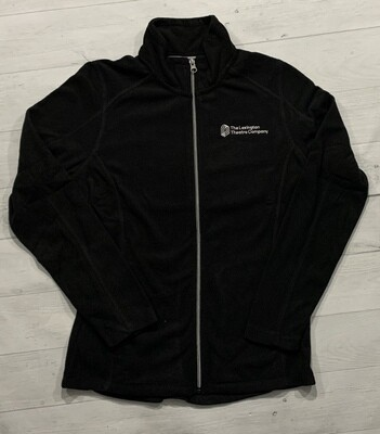 Unisex Port Authority® Black Microfleece Jacket