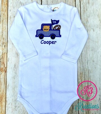 Baby UK Football Tailgate Onesie