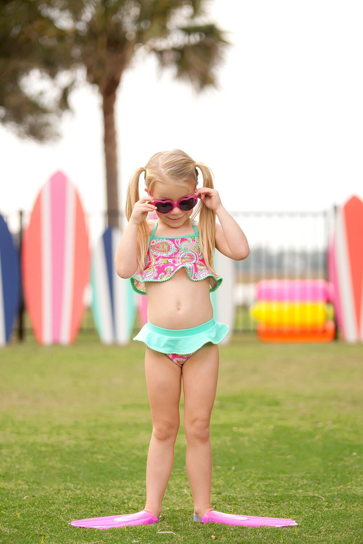 Lizzie Girls' Swim Set