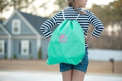 Mint Drawstring Bag