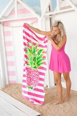 Pineapple Stripe Towel