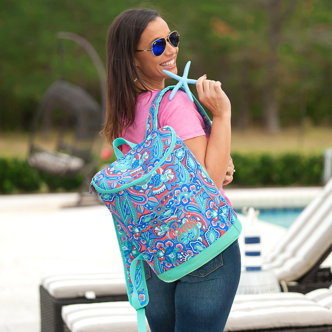 Island Bliss Backpack Cooler