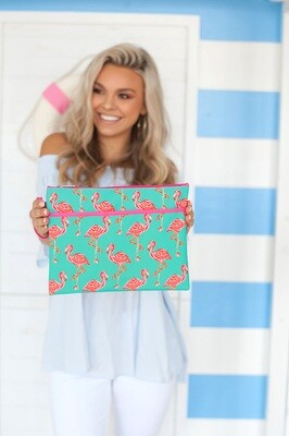 Tickled Pink Zip Pouch