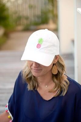 Pineapple White Cap