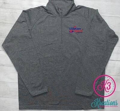 Sport Tek Unisex Sport Wick 1/2 Zip Pullover (CCA)