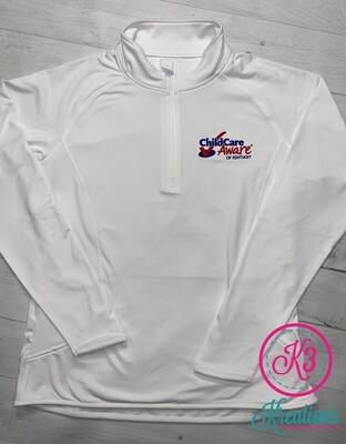 Sport Tek Ladies Sport Wick 1/2 Zip Pullover (CCA)