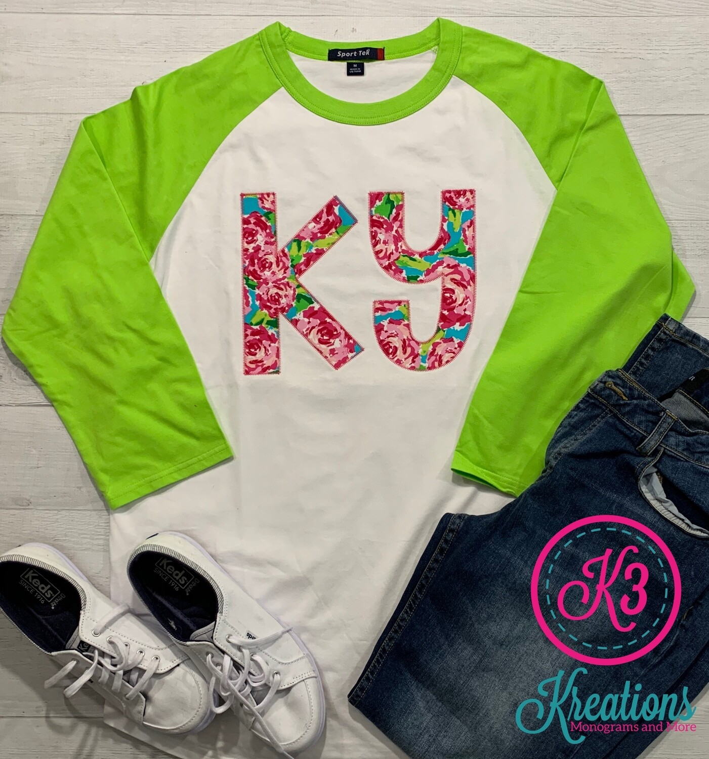 Youth Rosey Lilly-Inspired Baseball Jersey Tee