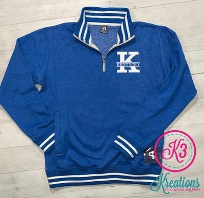 Kentucky Relay Fleece Quarter-Zip Sweatshirt