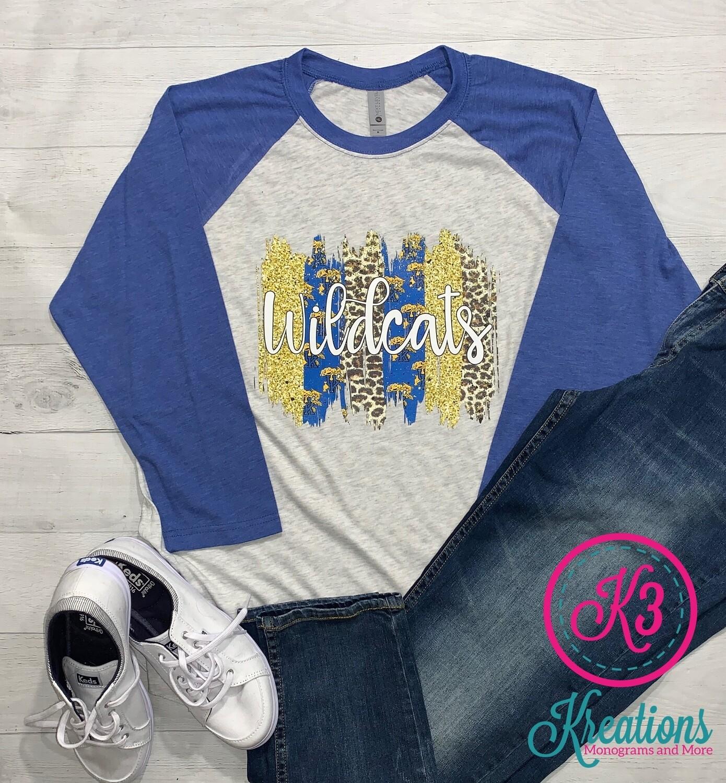 Wildcats Baseball T-Shirt