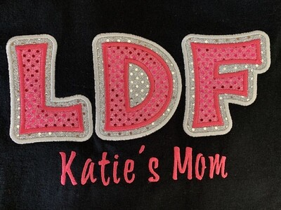Black Dance Mom Shirt - Choose Short Sleeve, Long Sleeve or Hoodie