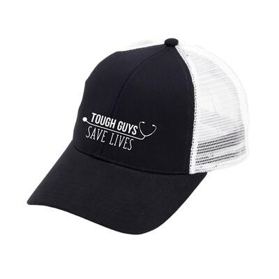 Tough Guys Save Lives Black Trucker Hat
