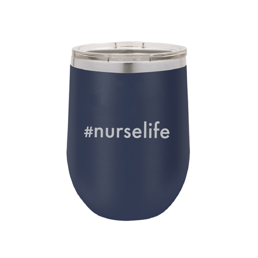 #nurselife Navy Tumbler