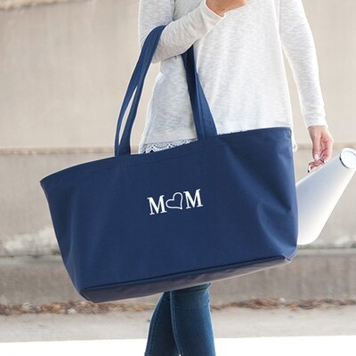 Mom Navy Ultimate Tote