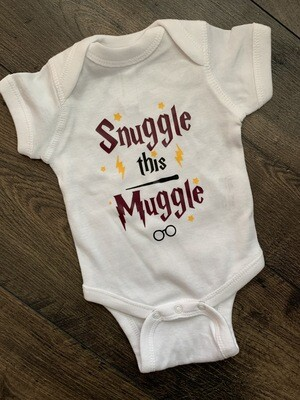 Harry Potter Snuggle This Muggle Onesie