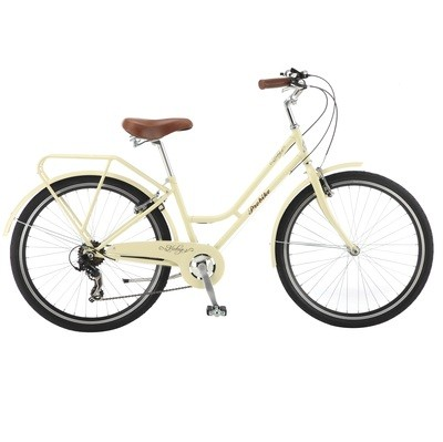 26″ MINI VINTAGE (CREAM) Probike Cycles Includes Basket