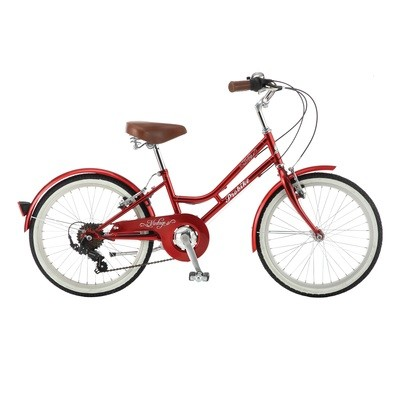 MINI VINTAGE 20″ (RED) Probike Cycles includes Basket