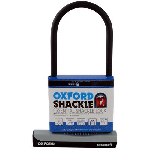 LOCK SHACKLE 12 190X330MM OXFORD 00014