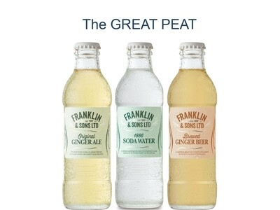 Franklin & Sons The GREAT PEAT Collection Box (200ml x 12)