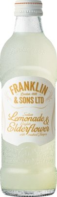 Franklin & Sons Sicilian Lemonade & English Elderflower with Crushed Juniper (275ML x 12)