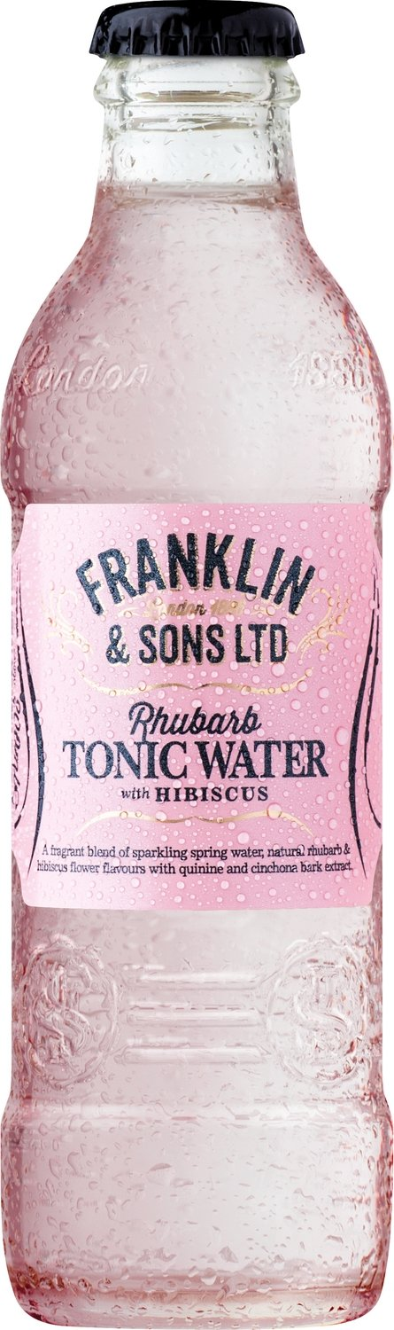 Franklin & Sons Rhubarb with Hibiscus (200ML x 12)