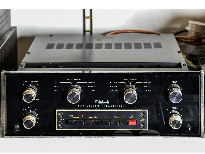 Mc Intosh C29 Stereo Preamplifier