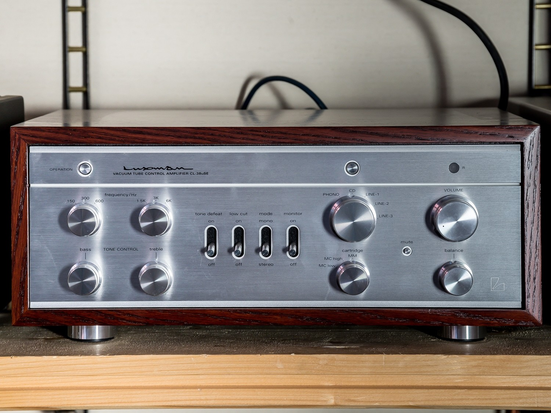 Amplificatore Luxman CL-38uSE