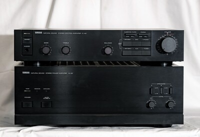 Yamaha M-40 + C-40