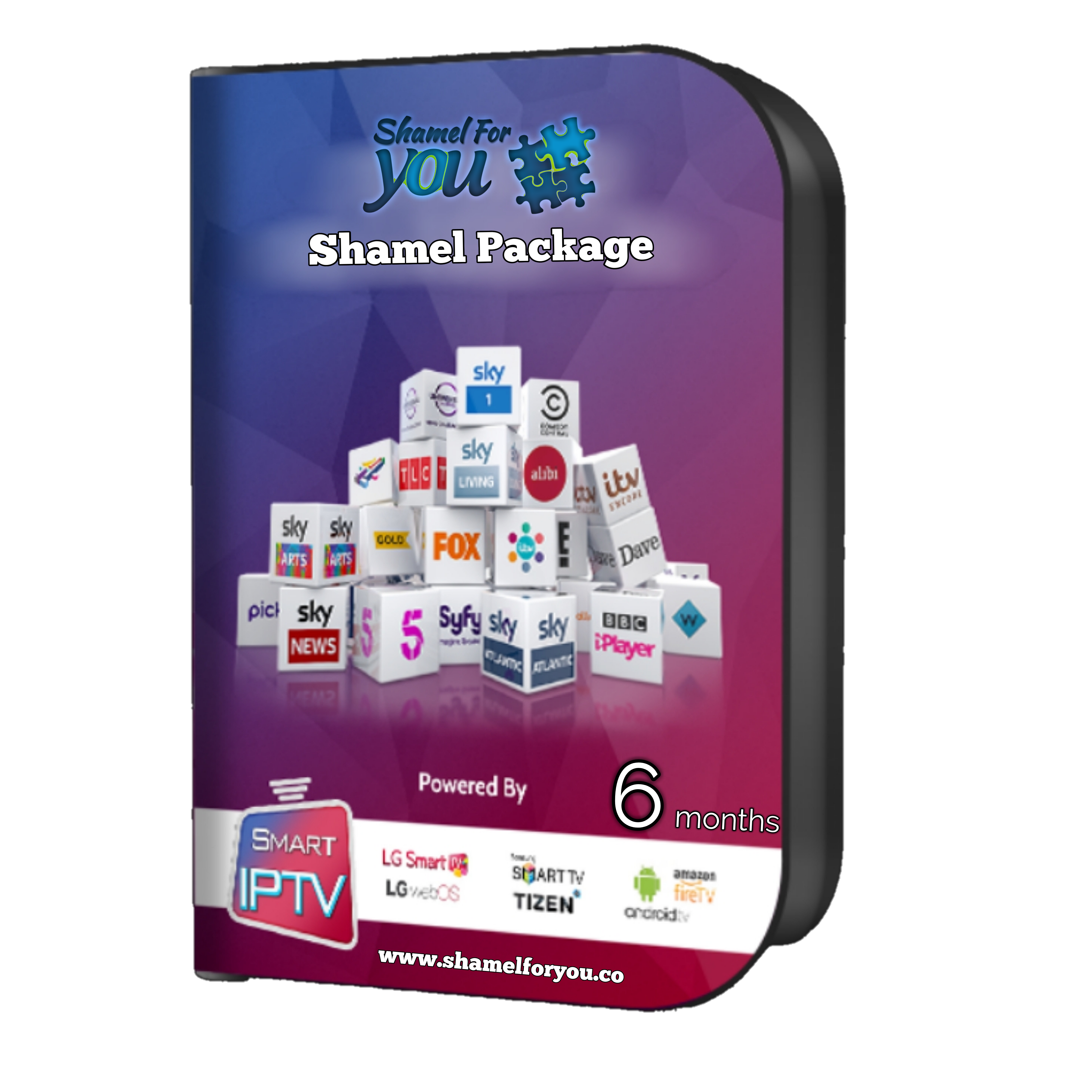 IPTV Shamel 4 You 6 months 000350