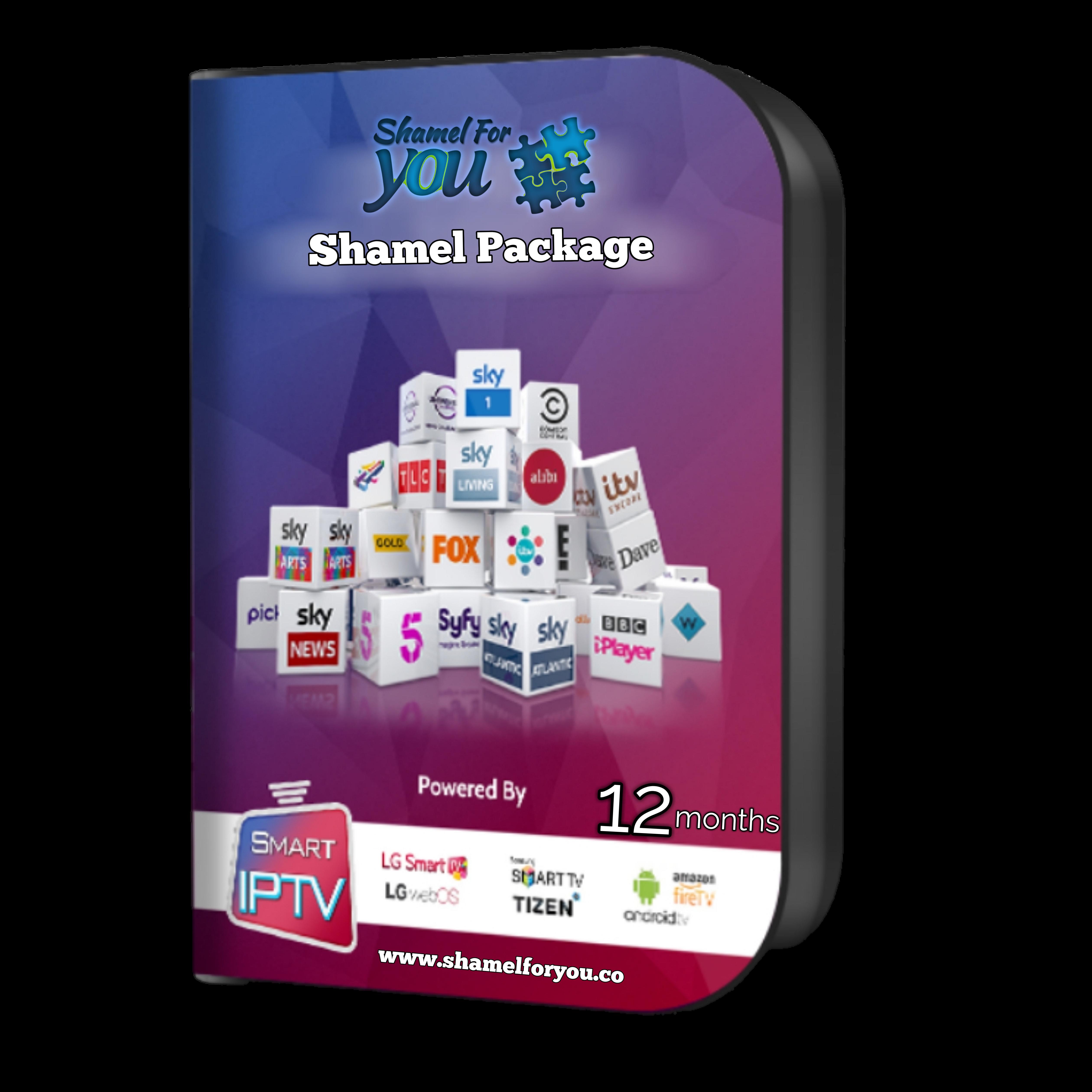 IPTV Shamel 4 You 12 months 00351