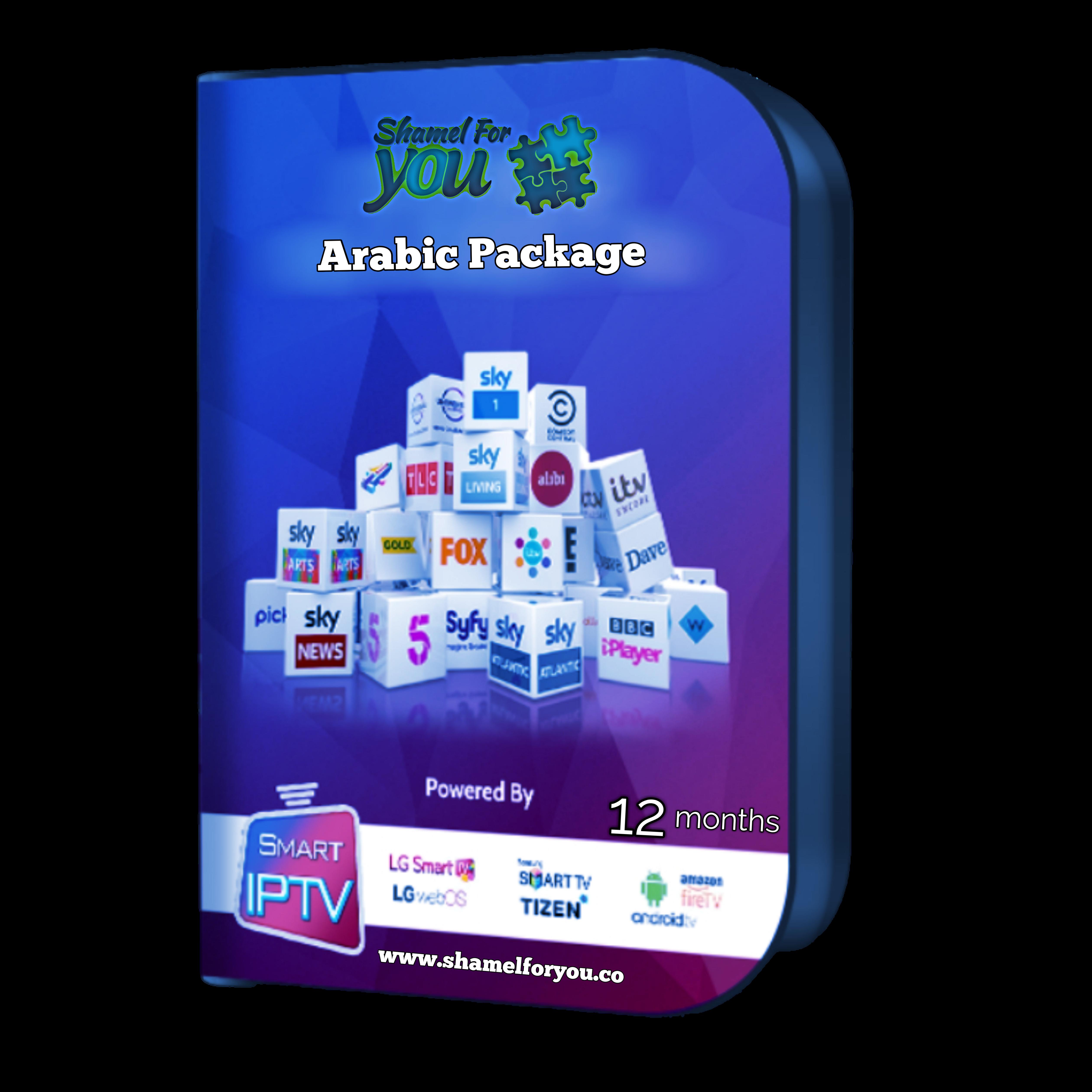 IPTV Shamel 4 You 12 months arabic 00354