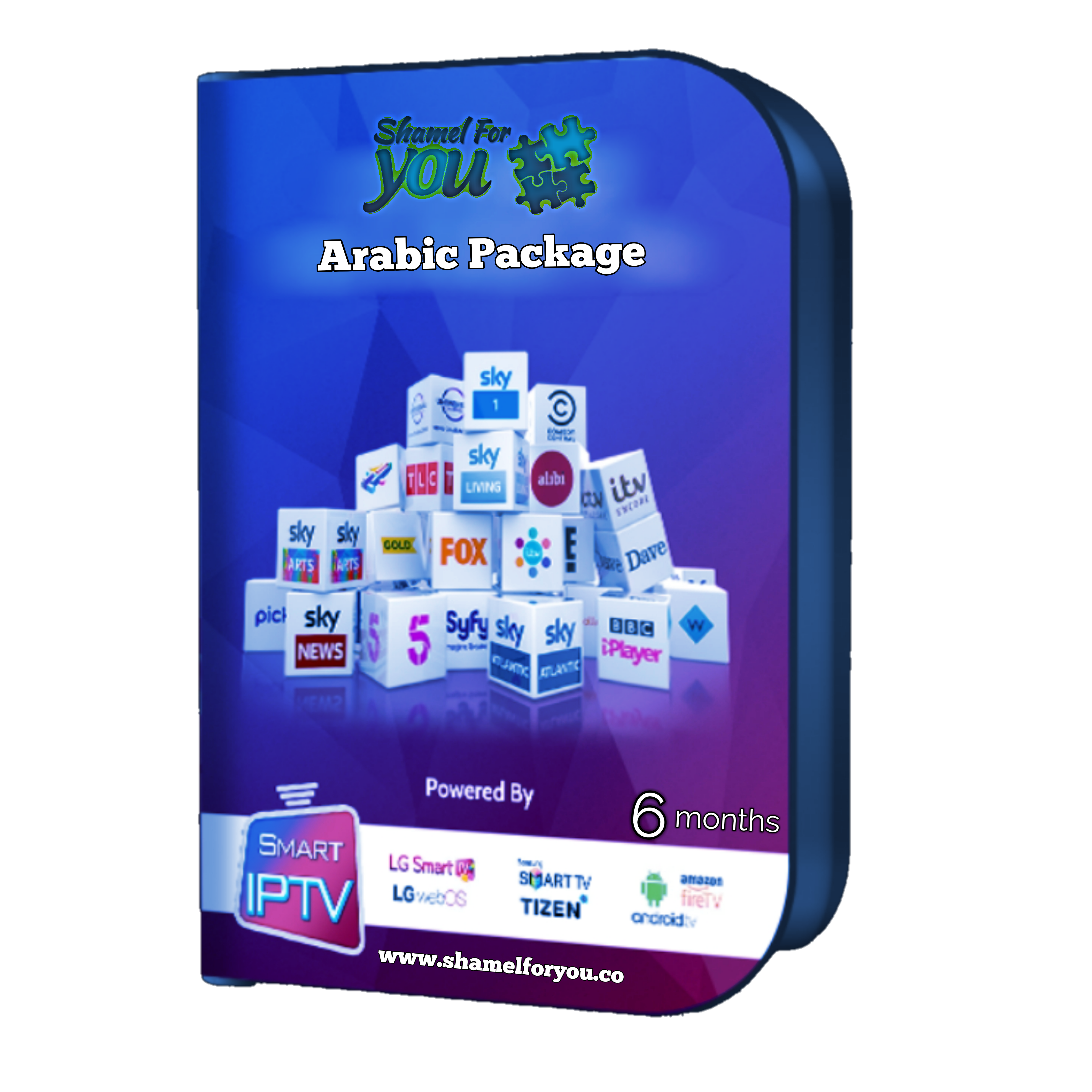 IPTV Shamel 4 You 6 months arabic 00353