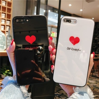 TPU + Glass Phone Case for iPhone