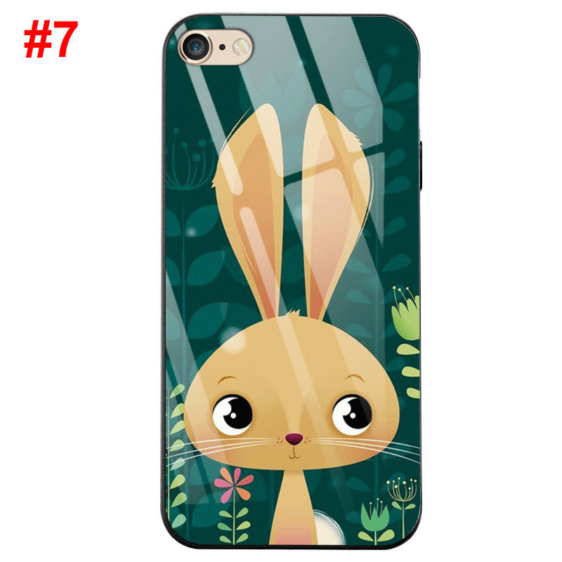 Tempered Glass Painting Phone Cases for iPhone