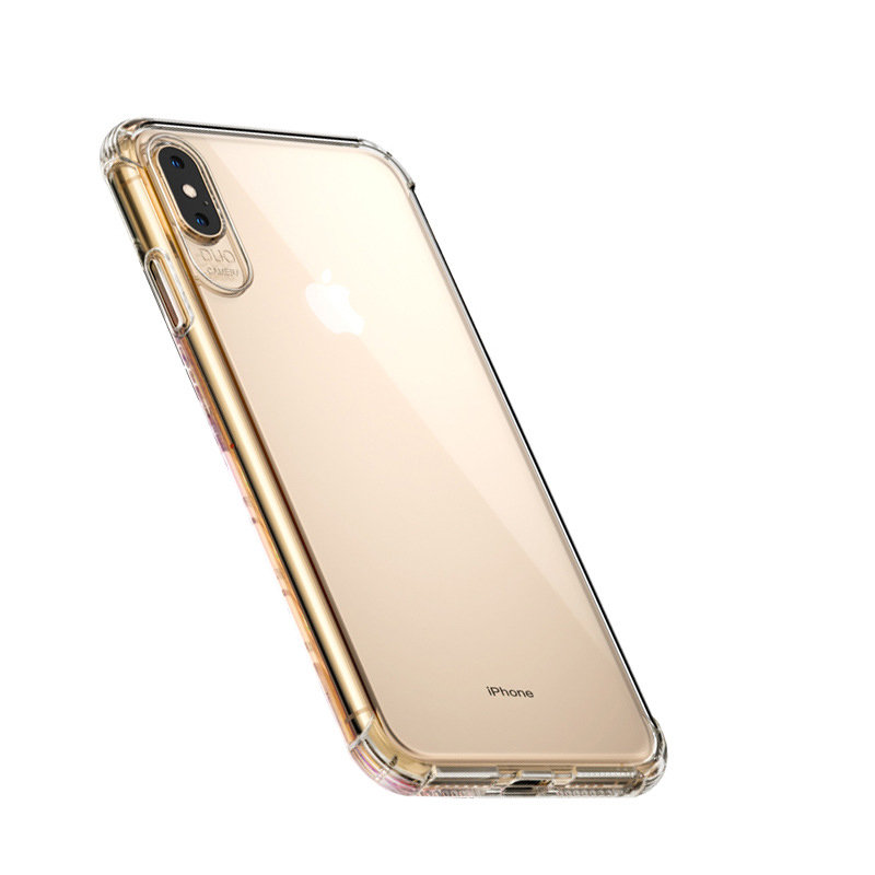 Suitable for iPhoneX/XS Max Mobile Phone Shell Transparent Tpu Phone Case