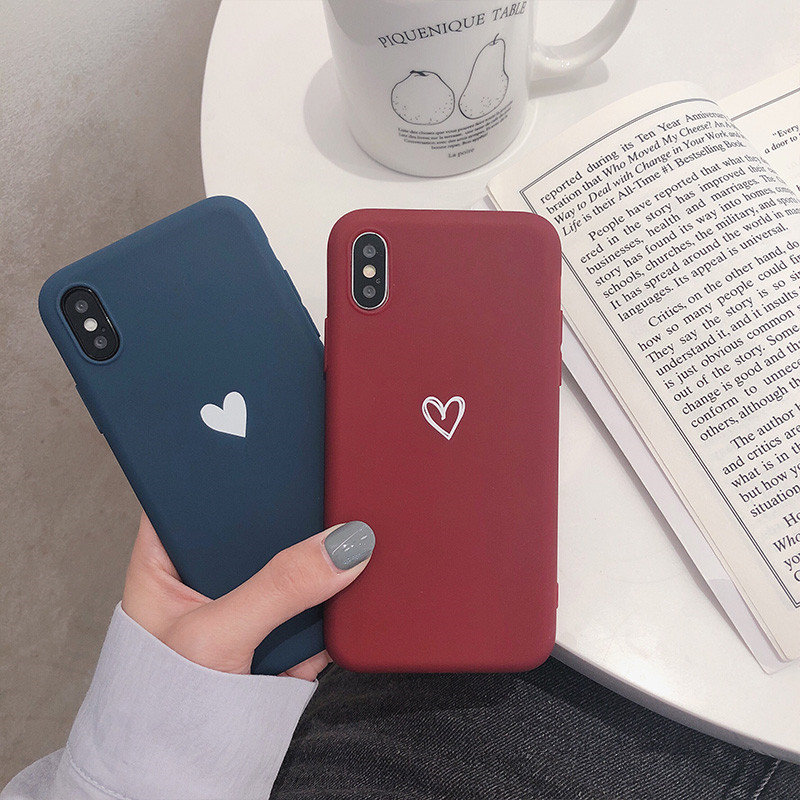 Frosted TPU Phone Protect Case for iPhone