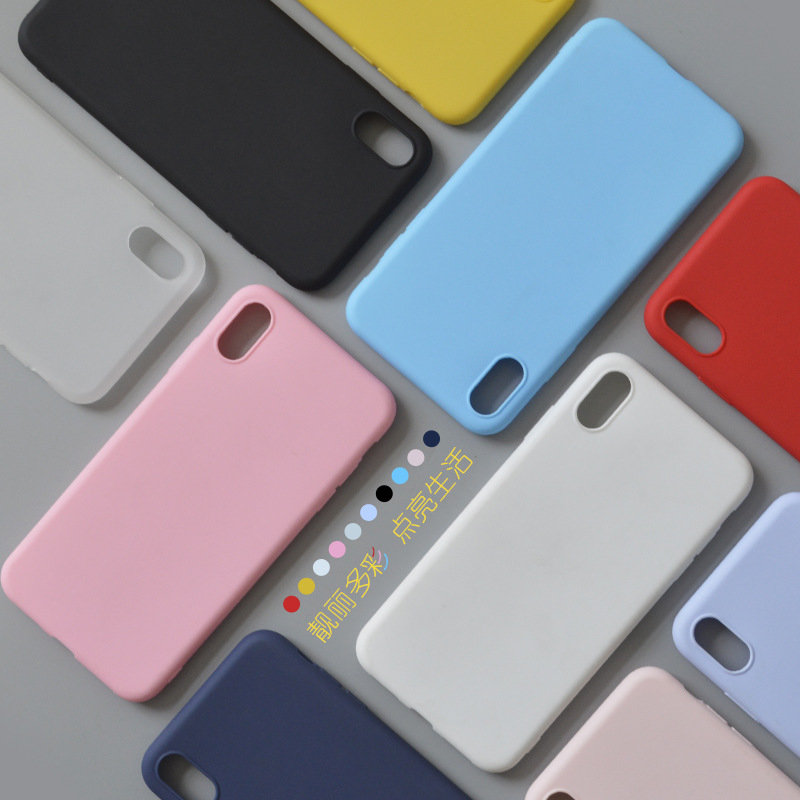 Frosted TPU Phone Protect Case for iPhone 10 Color
