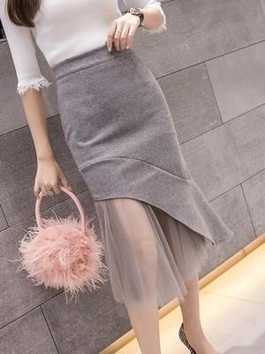 Babz Sneak Peek High Waist Skirt
