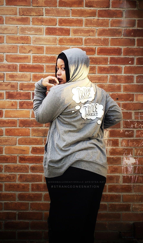 #TripleTriple - Unisex zip hoodie