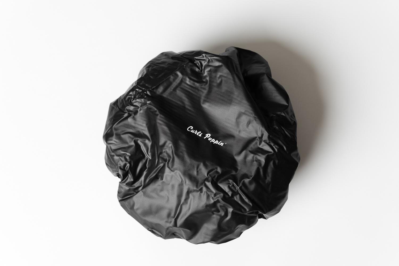 Curls Poppin' Reusable PVC Shower Cap
