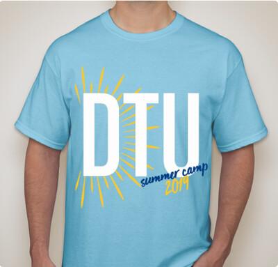 11d872027fd48 2019 DTU Camo Tank Top. $20.00. 2019 Summer Camp T-shirt