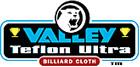 Valley Teflon® Ultra Pool Table Cloth