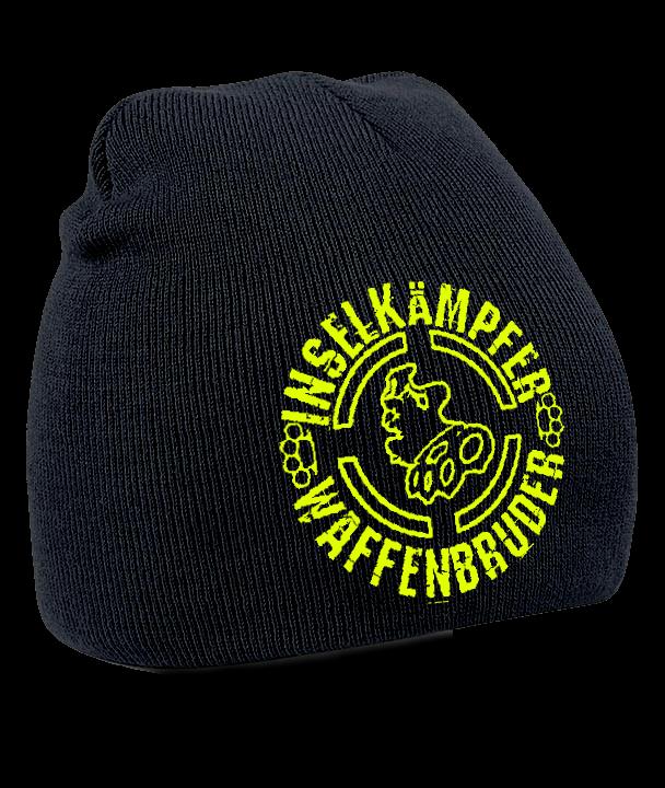 INSELKÄMPFER WAFFENBRUDER Mütze schwarz