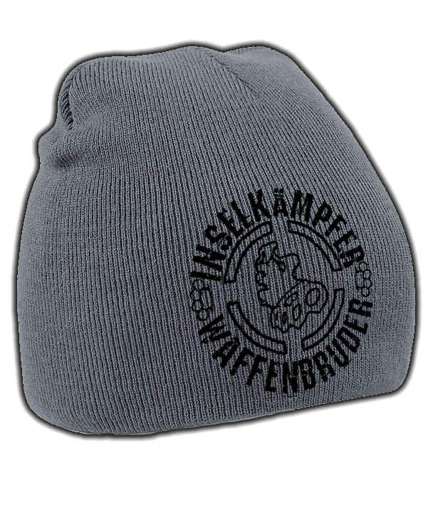 INSELKÄMPFER WAFFENBRUDER Mütze grau