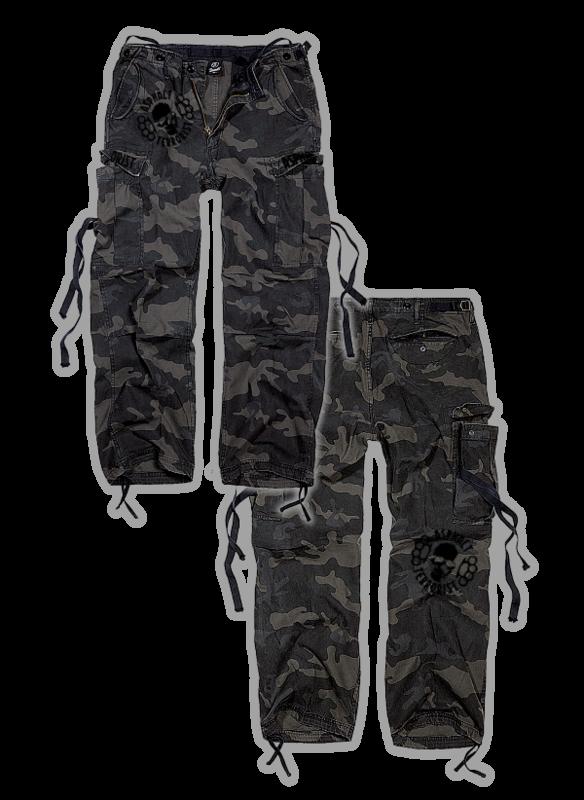 ASPHALT TERRORIST CARGOHOSE Camouflage