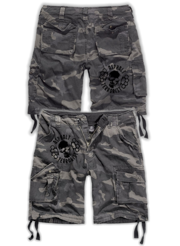 ASPHALT TERRORIST CARGOSHORT Camouflage