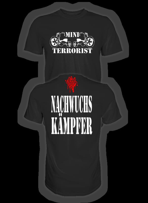MINI TERRORIST NACHWUCHSKÄMPFER 2 T-Shirt