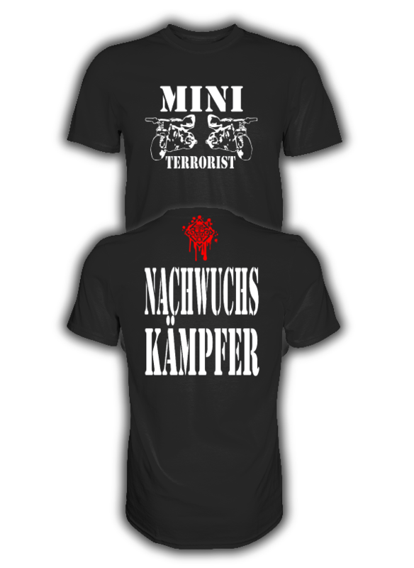 MINI TERRORIST NACHWUCHSKÄMPFER T-Shirt